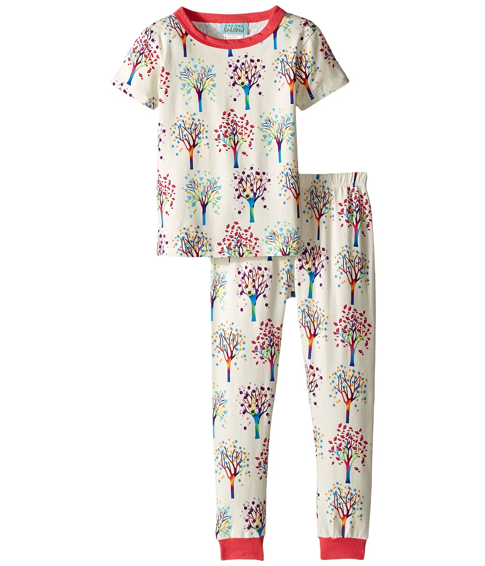 BedHead Kids - Short Sleeve Kids Snug PJ (Toddler/Little Kids) (Tree Of Life) Boy's Pajama Sets