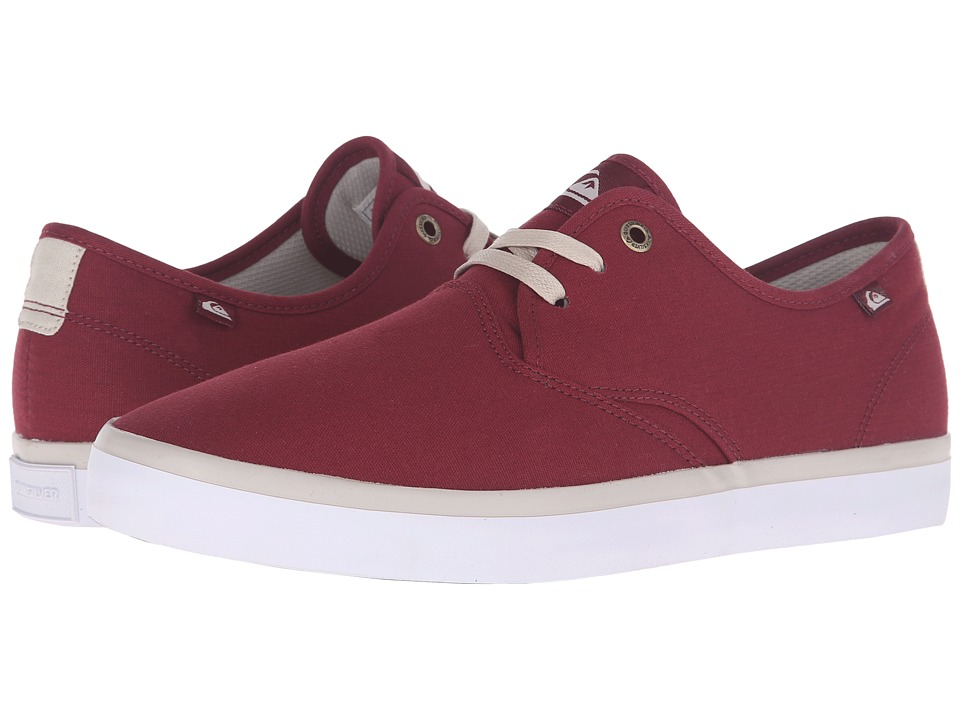 Quiksilver - Shorebreak (Red/Red/White) Men's Shoes