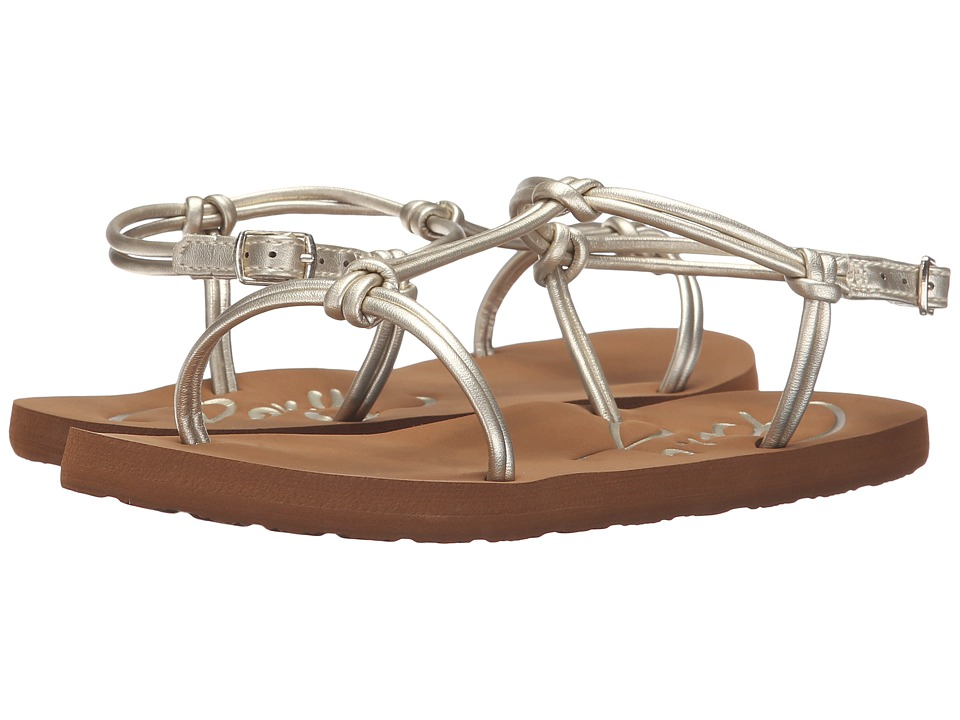 Roxy - Cecilia (Gold) Women's Sandals