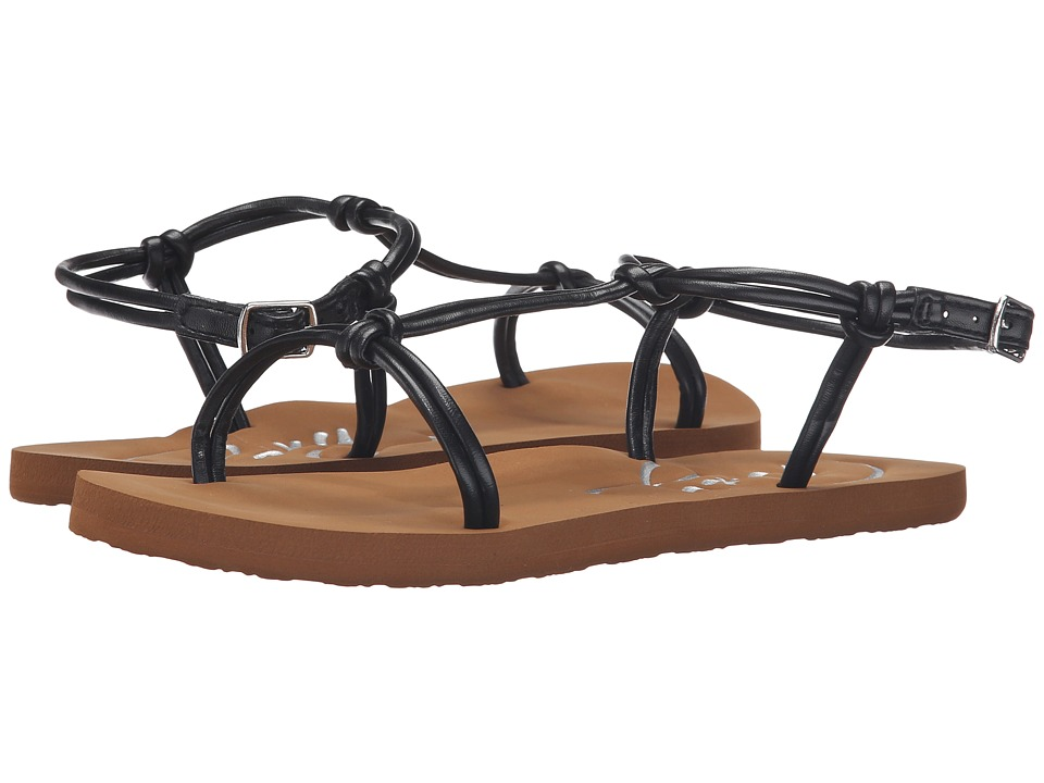 Roxy - Cecilia (Black) Women's Sandals