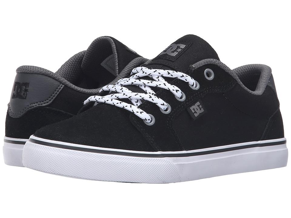DC Kids - Anvil (Big Kid) (Grey/Black/Grey) Boys Shoes