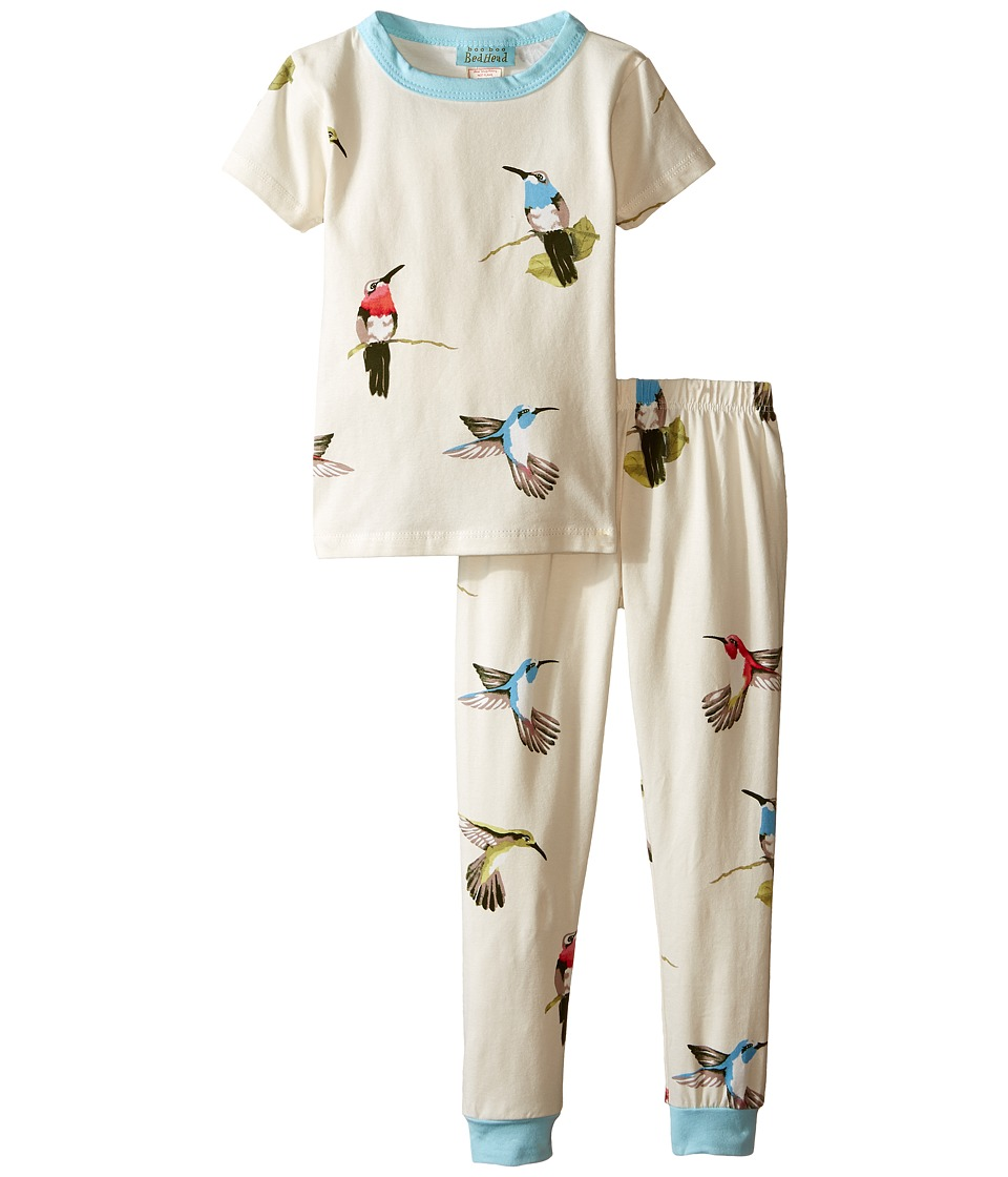 BedHead Kids - Short Sleeve Snug PJ (Toddler/Little Kids) (Humming Birds) Girl's Pajama Sets