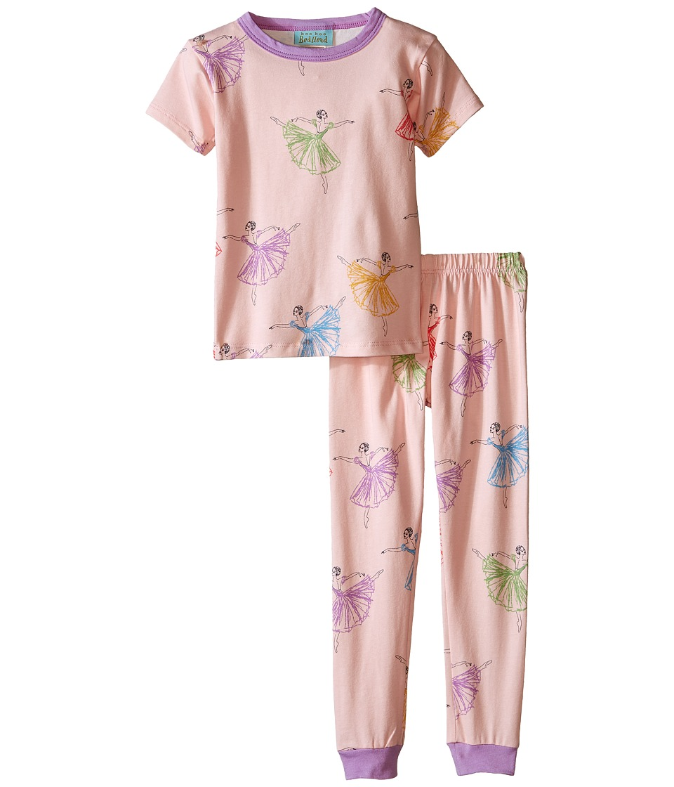 BedHead Kids - Short Sleeve Snug PJ (Toddler/Little Kids) (Prima Ballerina) Girl