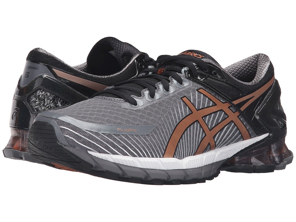 ASICS - GEL-Kinsei 6 (Carbon/Copper/Black) Men's Running Shoes