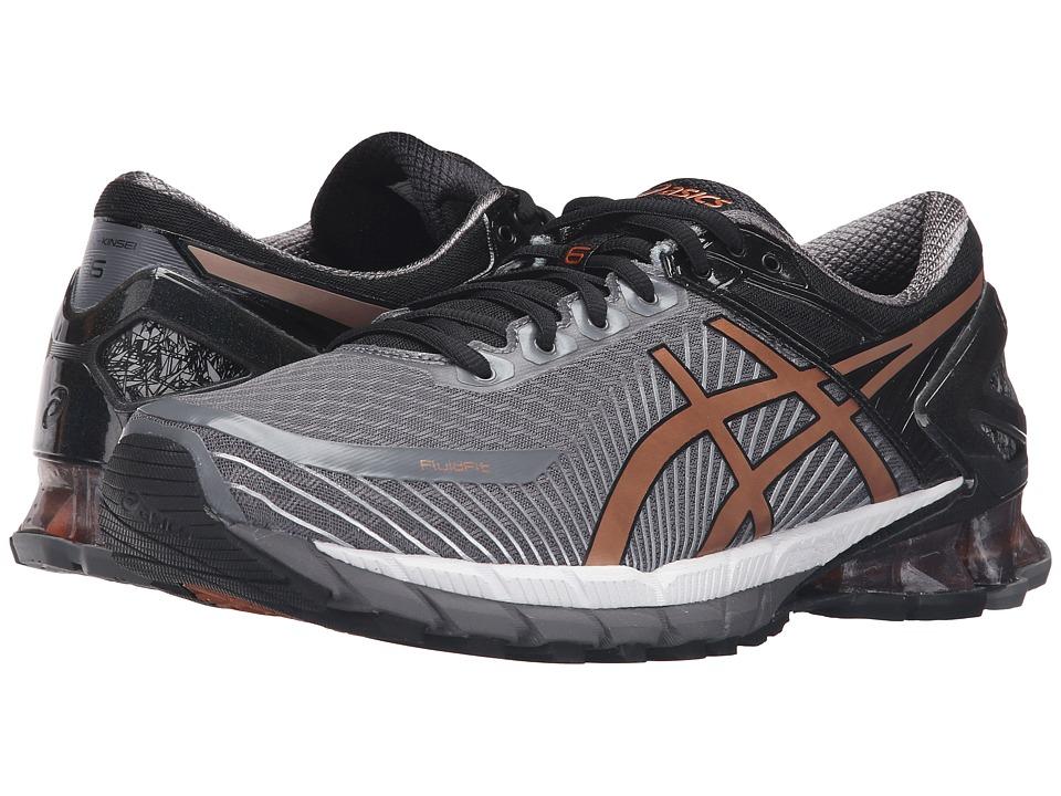ASICS - GEL-Kinsei 6 (Carbon/Copper/Black) Men's Running Shoes
