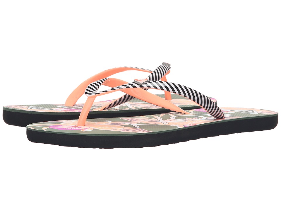 Roxy - Mimosa (Green/Pink) Women's Sandals