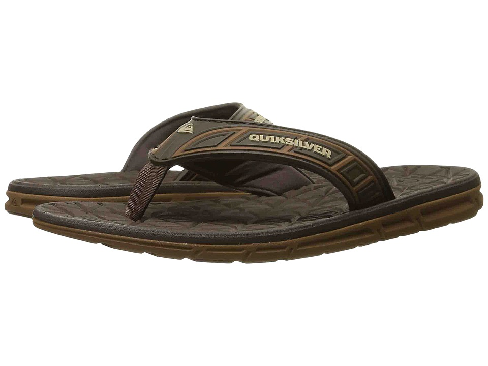 Quiksilver - Fluid (Brown/Brown/Brown) Men's Sandals