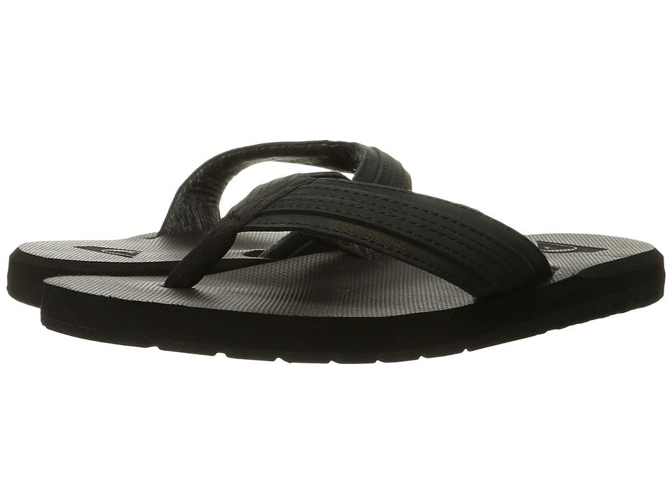 Quiksilver - Coastal Oasis (Solid Black) Men's Sandals