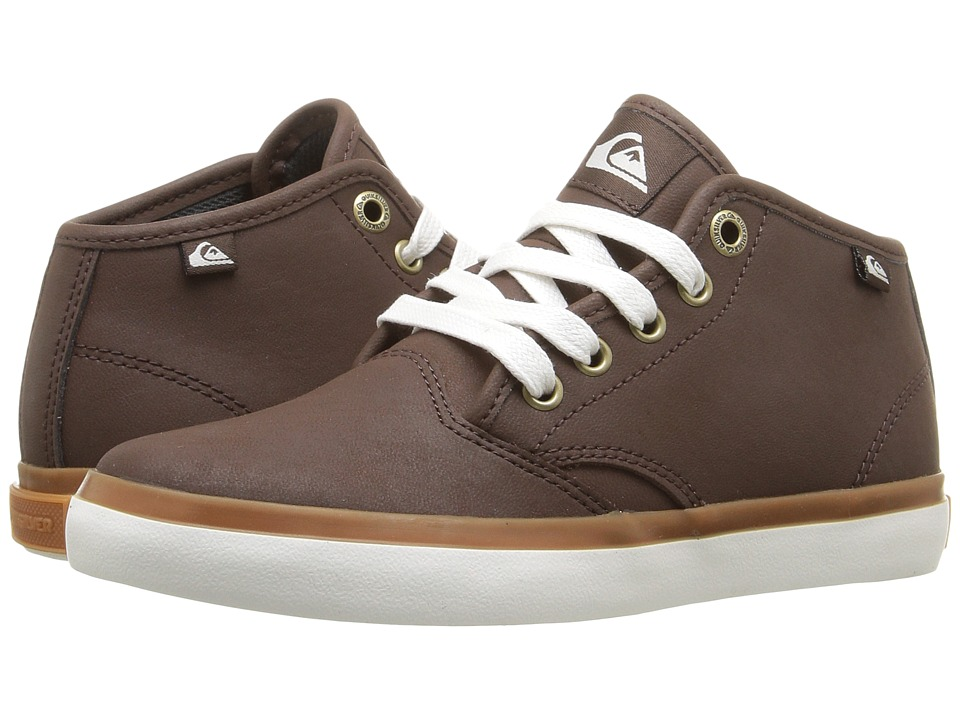 Quiksilver Kids - Shorebreak Deluxe Mid (Toddler/Little Kid/Big Kid) (Brown/Brown/Brown) Boys Shoes