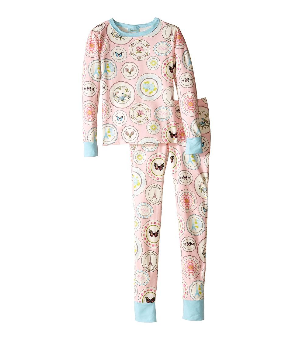 BedHead Kids - Snug Fit L/S Classic PJ (Big Kids) (Pink Plat Du Jour) Girl's Pajama Sets