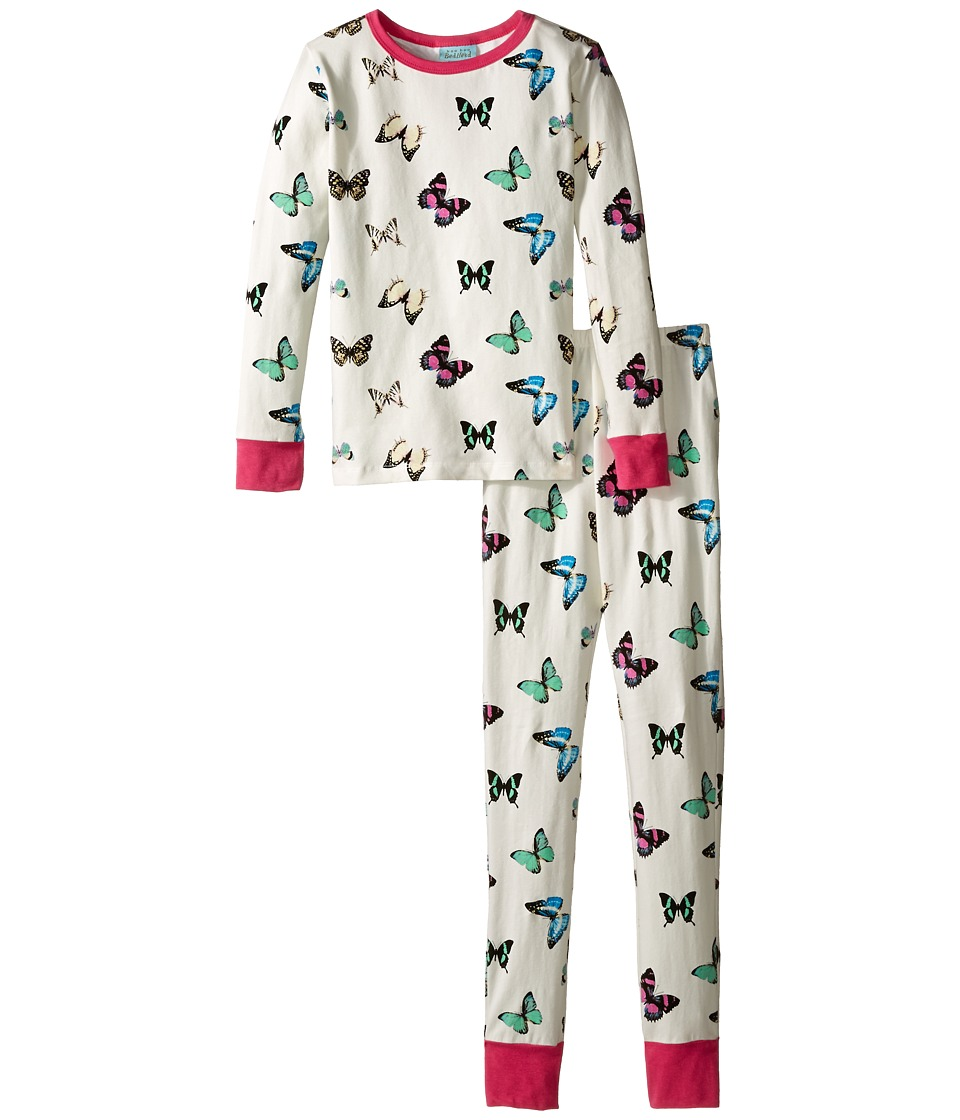BedHead Kids - Snug Fit L/S Classic PJ (Big Kids) (Wings of Desire) Girl's Pajama Sets