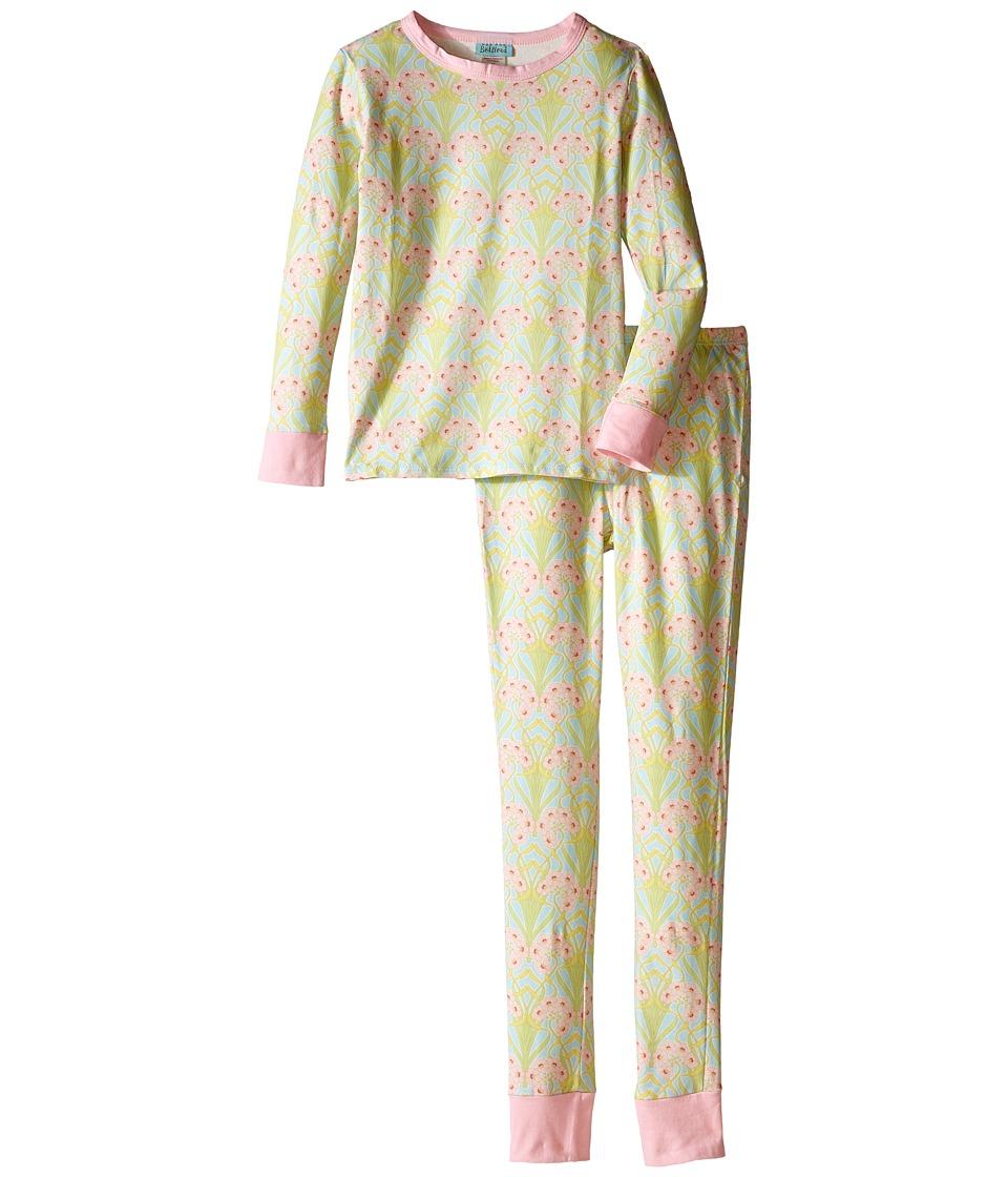 BedHead Kids - Snug Fit L/S Classic PJ (Big Kids) (Blue Nouveau) Boy's Pajama Sets