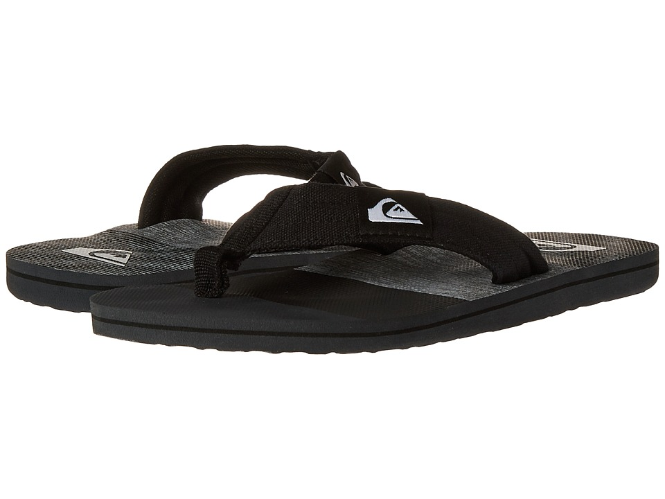 Quiksilver - Molokai Layback (Grey/Black/Grey) Men's Sandals