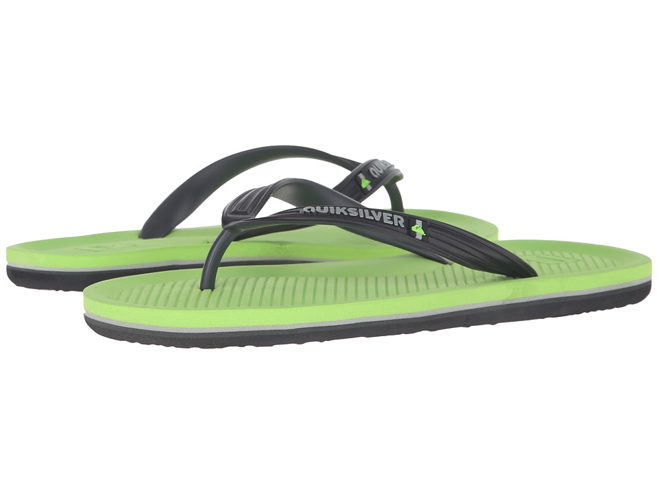 Quiksilver - Haleiwa (Grey/Grey/Green) Men's Sandals