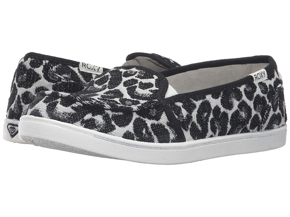 Roxy - Lido III (Black/Black/Dark Grey) Women's Slip on Shoes