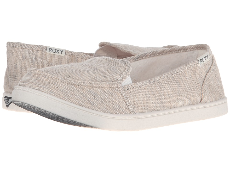Roxy - Lido III (Oatmeal) Women's Slip on Shoes