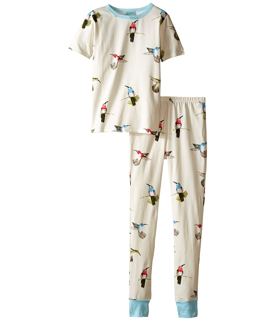 BedHead Kids - Short Sleeve Tween Snug PJ (Big Kids) (Humming Birds) Girl's Pajama Sets