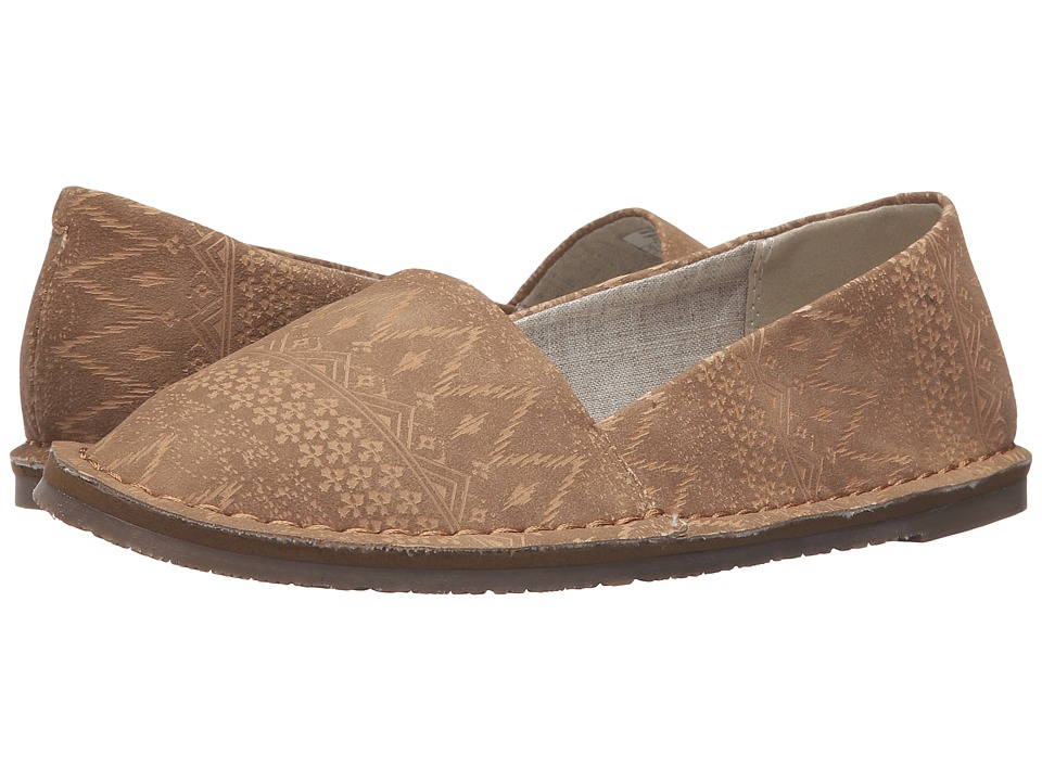 Roxy - Sage (Tan) Women's Slip on Shoes