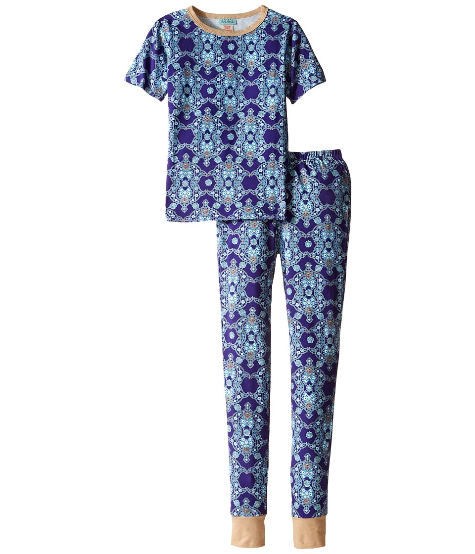 BedHead Kids - Short Sleeve Tween Snug PJ (Big Kids) (Aladdin's Lamp) Boy's Pajama Sets