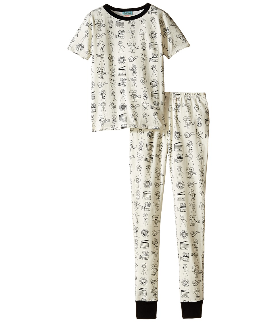 BedHead Kids - Short Sleeve Tween Snug PJ (Big Kids) (Lights! Camera! Action!) Boy's Pajama Sets