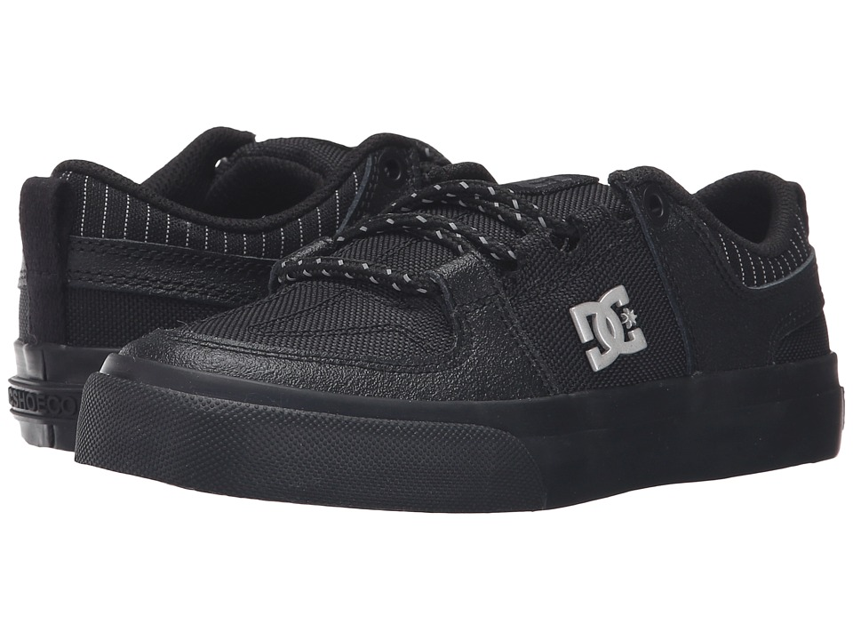 DC Kids - Lynx Vulc SE (Little Kid) (Black/Battleship/Black) Boys Shoes