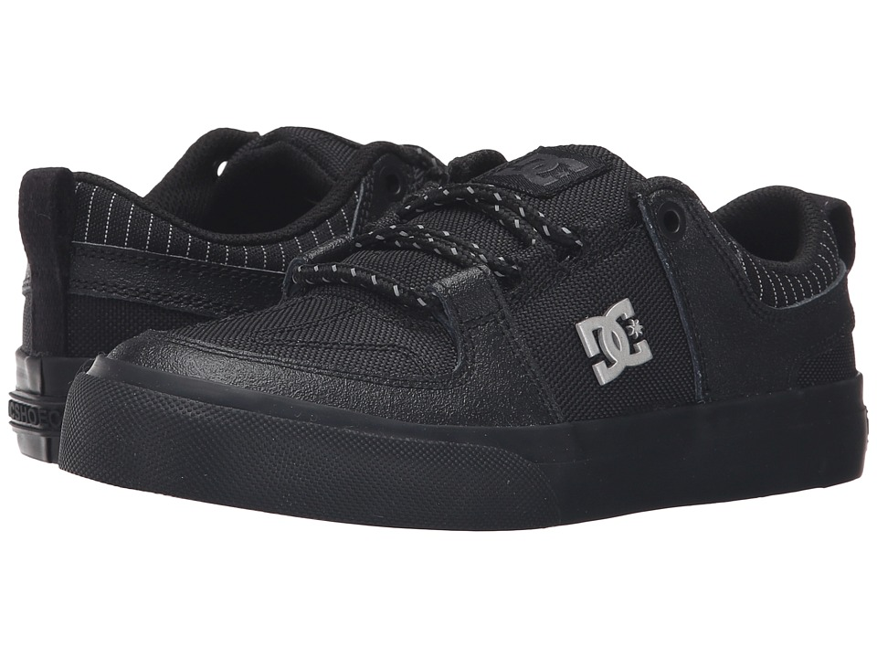 DC Kids - Lynx Vulc SE (Big Kid) (Black/Battleship/Black) Boys Shoes
