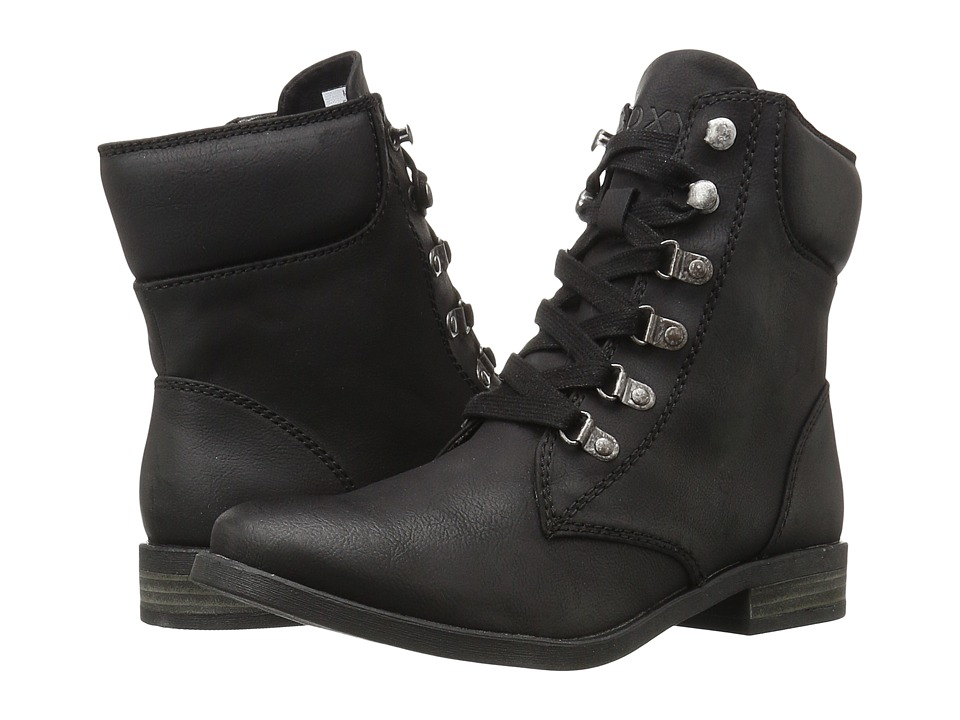 Roxy - Fulton (Black) Women's Lace-up Boots