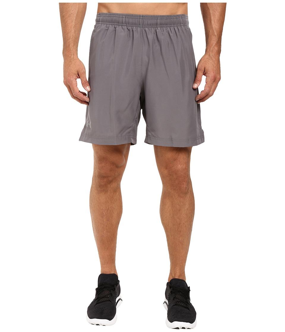 Under Armour - UA Launch 2-In-1 Shorts (Graphite/Graphite/Reflective) Men's Shorts
