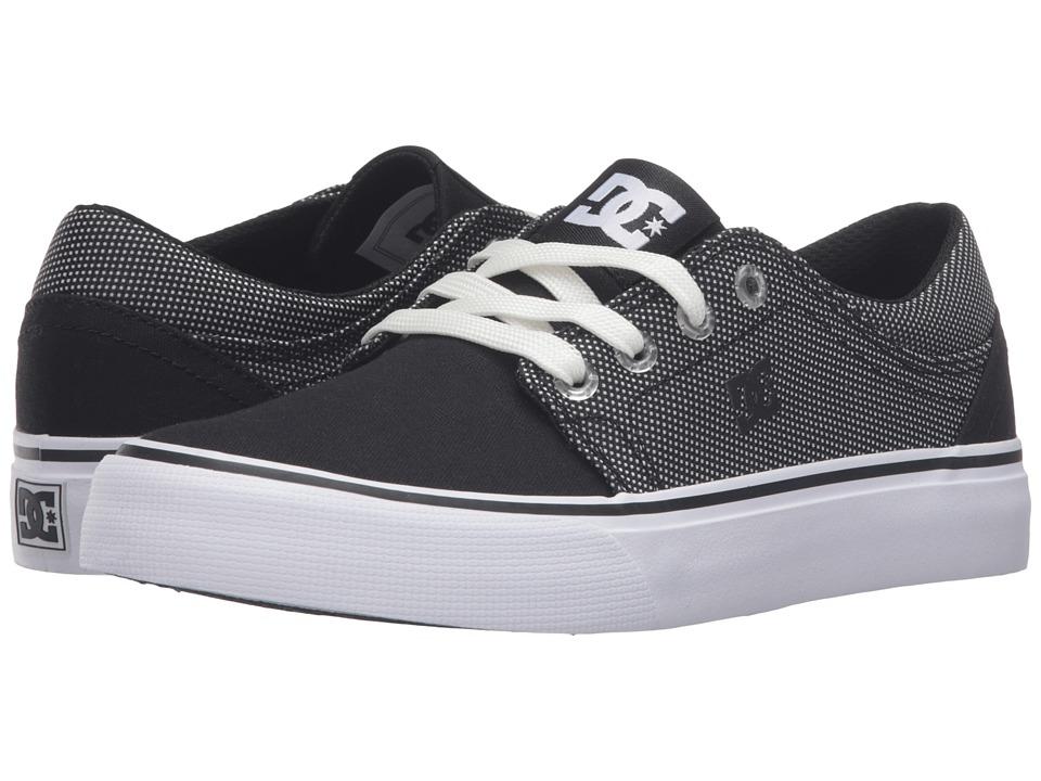 DC Kids - Trase TX SE (Big Kid) (Black/Glow) Kids Shoes