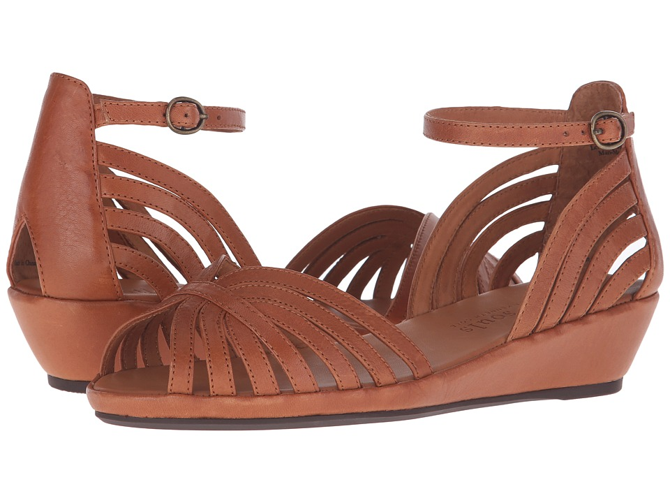 Gentle Souls - Leah (Medium Brown Leather) Women's Dress Sandals
