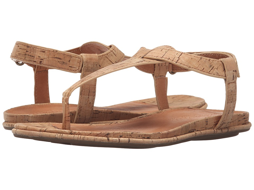 Gentle Souls - Oxford (Natural Cork) Women's Dress Sandals