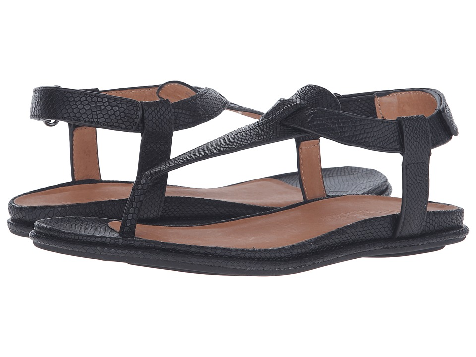 Gentle Souls - Oxford (Black Snake) Women's Dress Sandals