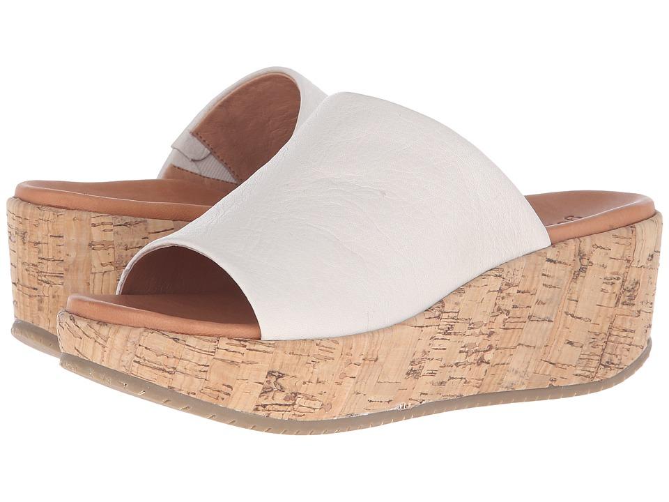 Gentle Souls - Megan (Stone Leather) Women's Dress Sandals