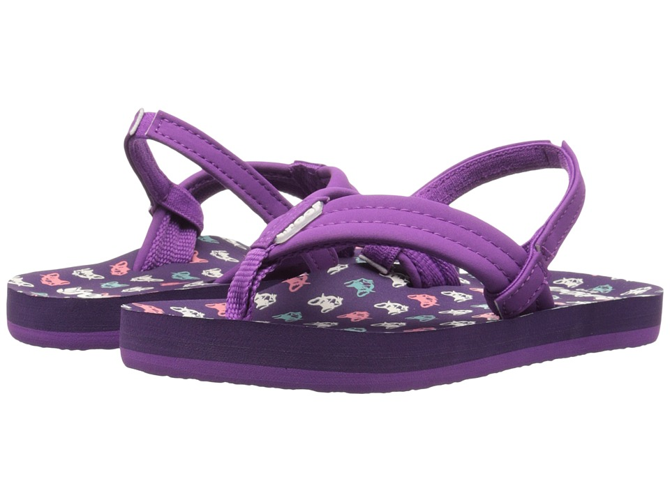 Reef Kids - Little Ahi (Toddler/Little Kid/Big Kid) (Frenchie) Girls Shoes
