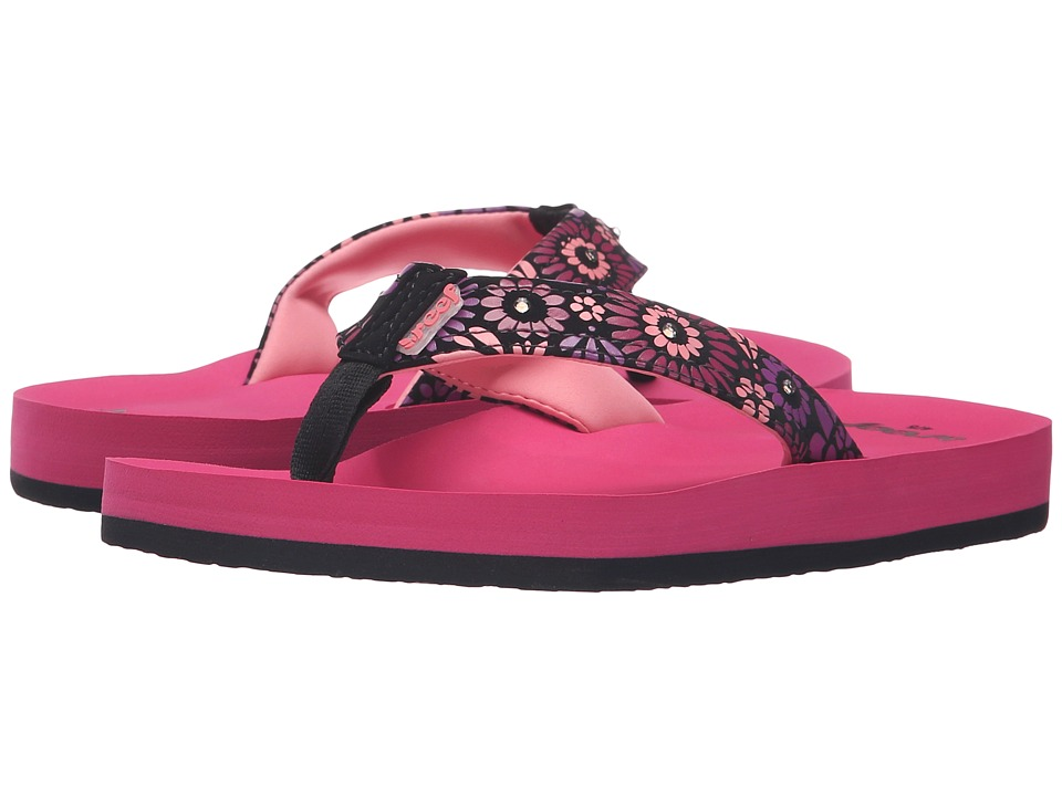 Reef Kids - Little Ahi Lights (Infant/Toddler/Little Kid/Big Kid) (Magenta) Girls Shoes