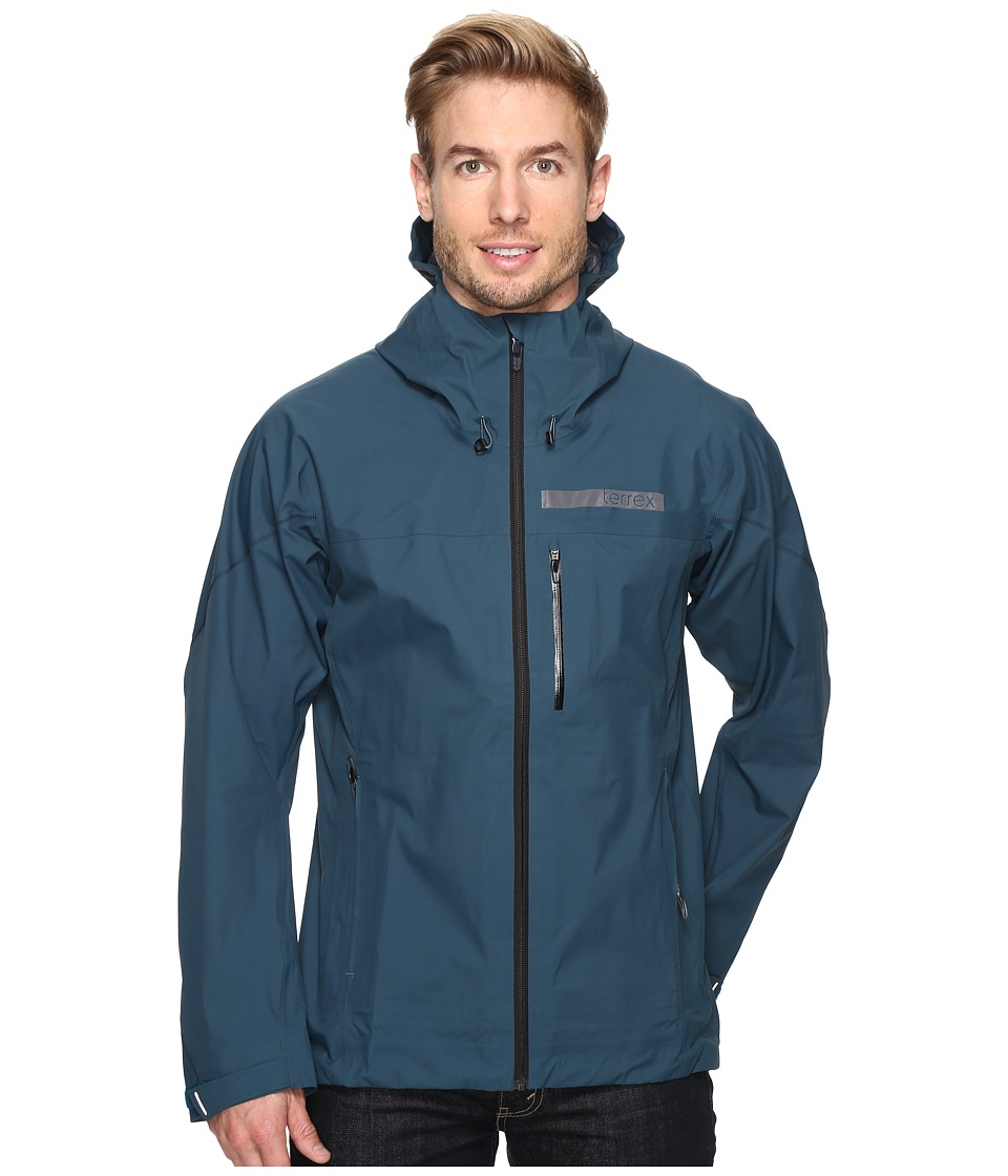 adidas Outdoor - Terrex GTX Active Shell 3 Jacket (Utility Green) Men's Coat