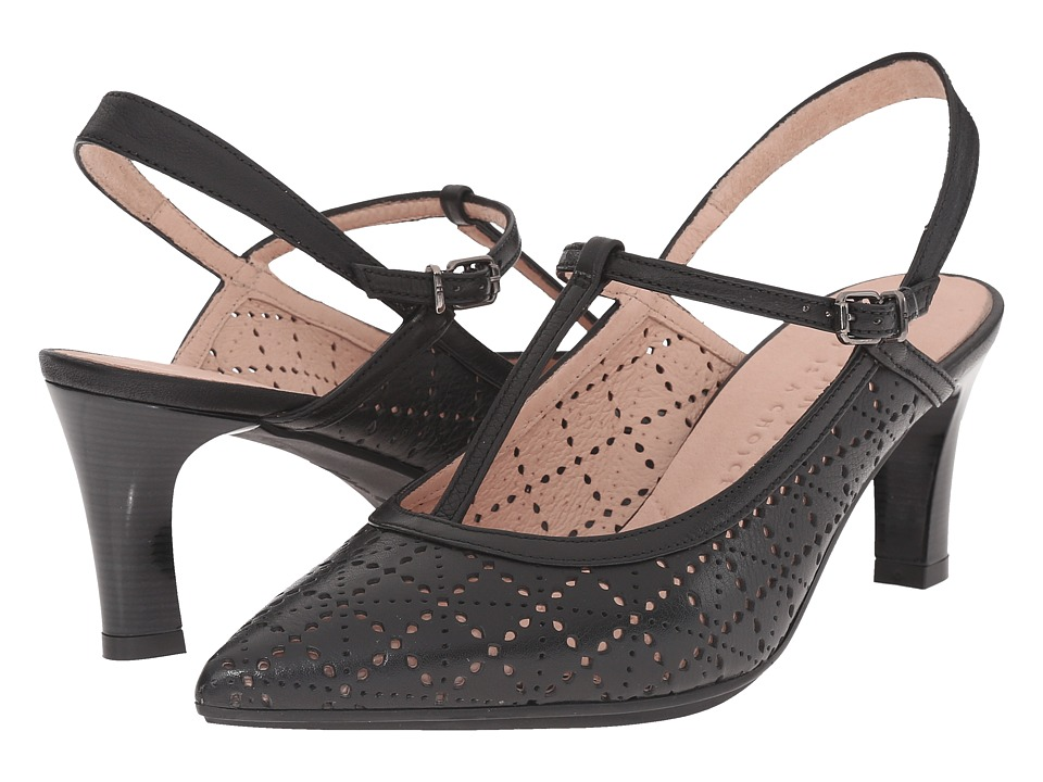 Hispanitas - Penelope (Sauvage Black) Women's Sling Back Shoes