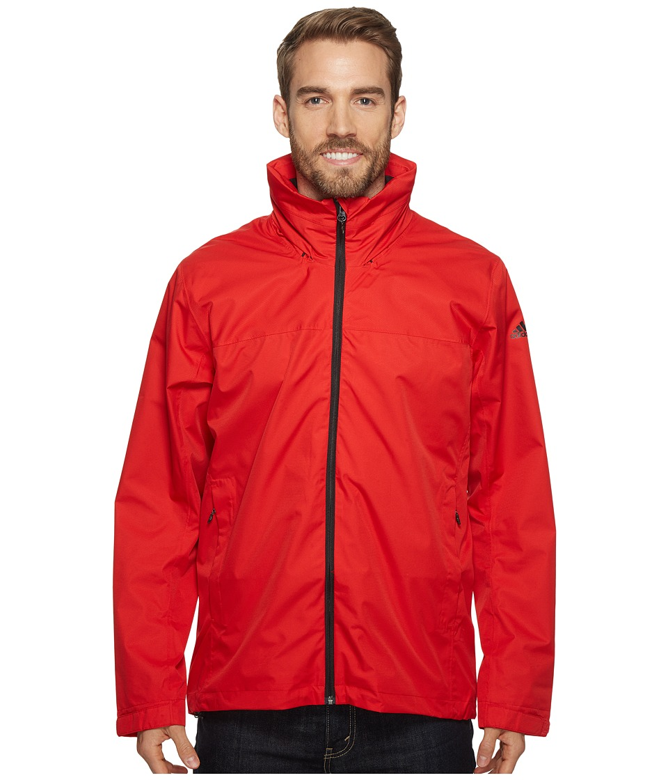 adidas Outdoor - Wandertag Jacket (Scarlet) Men's Coat