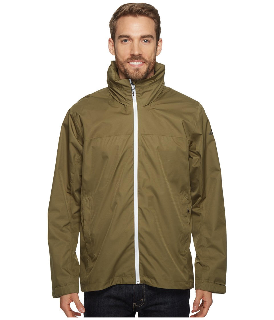 adidas Outdoor - Wandertag Jacket (Olive Cargo) Men's Coat