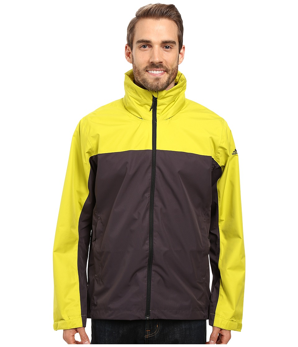 adidas Outdoor - Wandertag Jacket (Unity Lime/Utility Black) Men's Coat