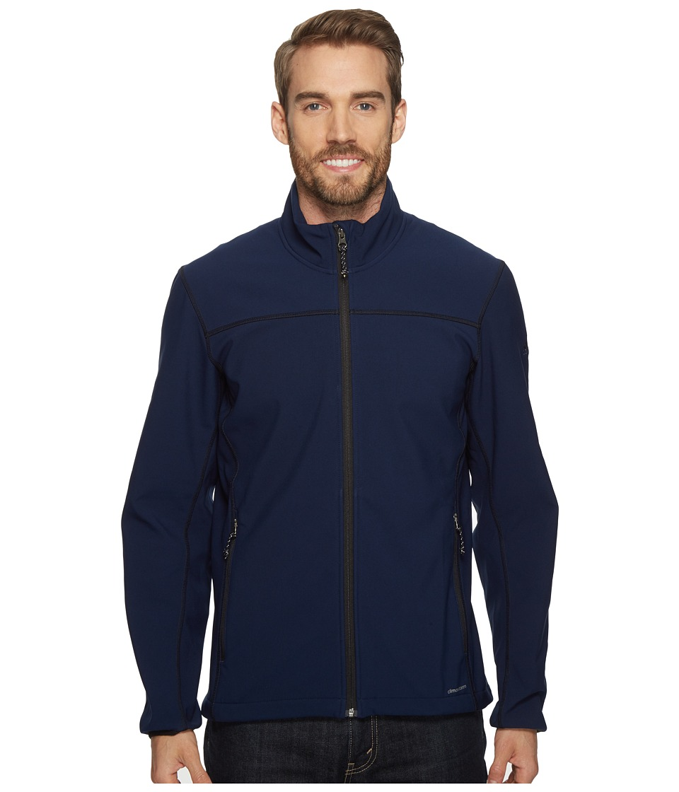 adidas Outdoor - Softcase Softshell Jacket (Collegiate Navy) Men's Coat
