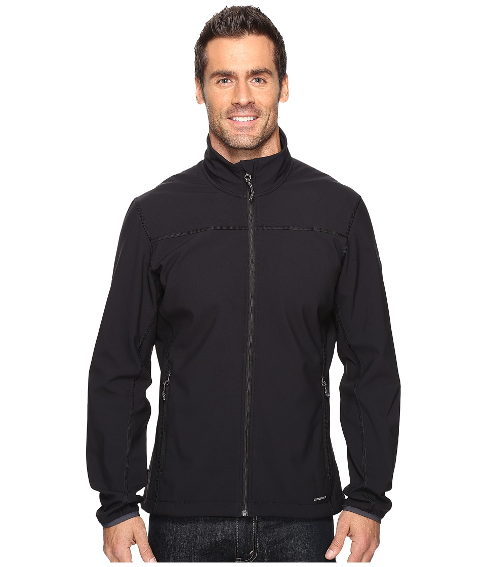 adidas Outdoor - Softcase Softshell Jacket (Black) Men's Coat