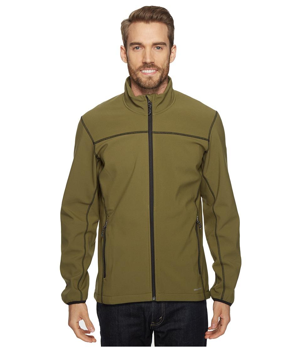 adidas Outdoor Softcase Softshell Jacket (Olive Cargo) Men