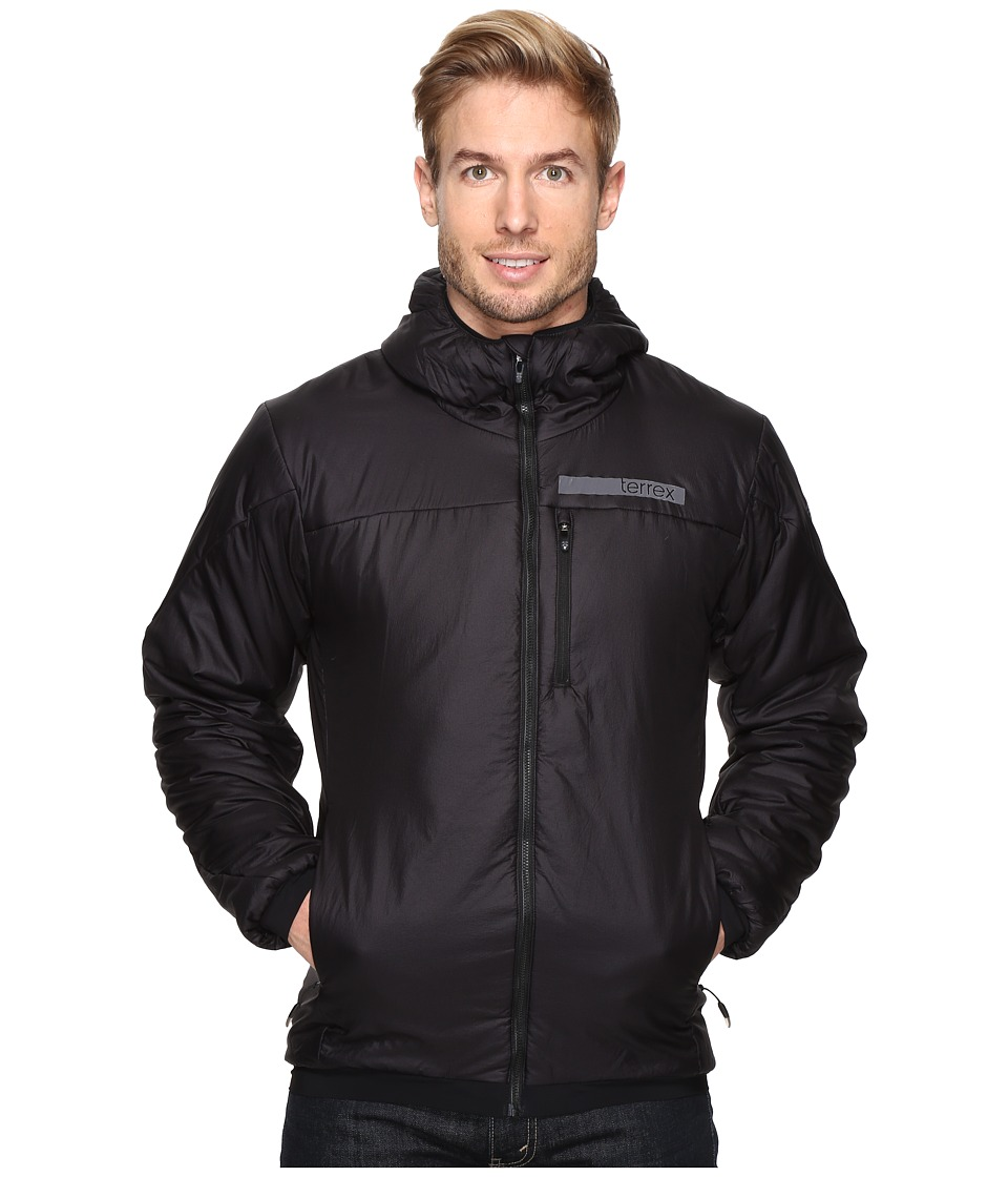 adidas Outdoor - Terrex Ndosphere Flex Hooded Jacket II (Black) Men's Coat