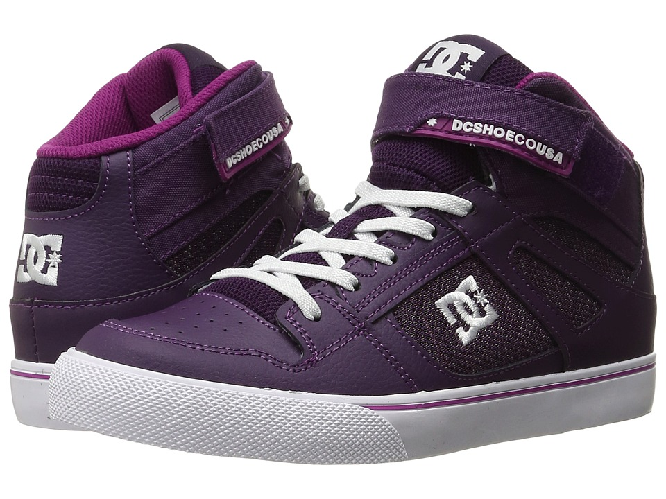 DC Kids - Spartan High EV (Big Kid) (Purple/White) Girls Shoes
