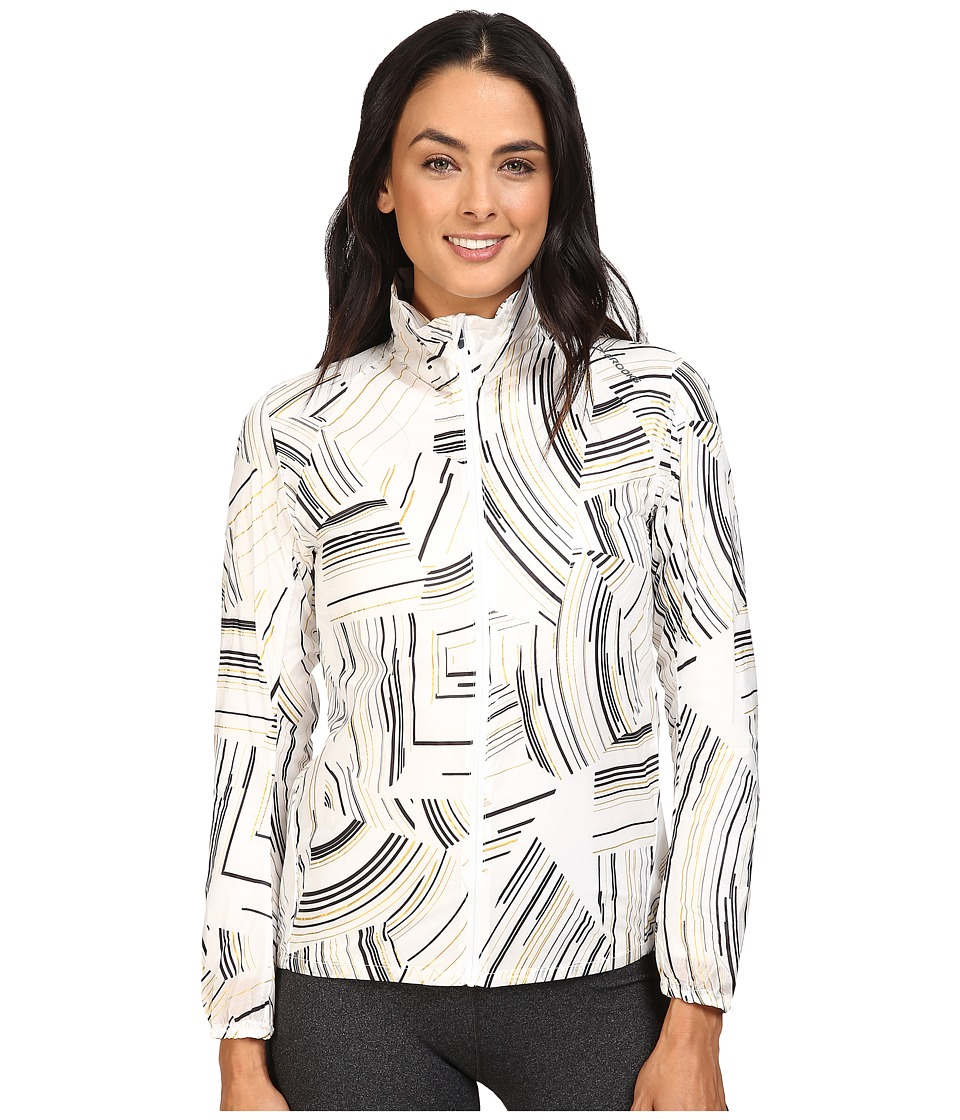 Brooks - LSD Jacket (White Cosmo) Women's Coat