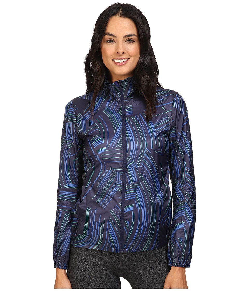 Brooks - LSD Jacket (Navy Cosmo) Women's Coat