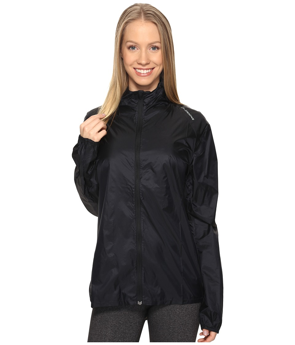 Brooks - LSD Jacket (Black) Women's Coat