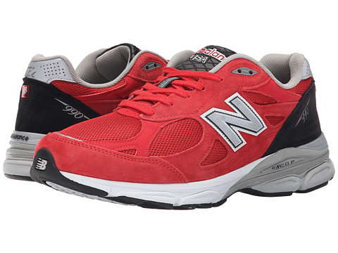 New Balance - M990RW3 (Red/White) Men's Shoes