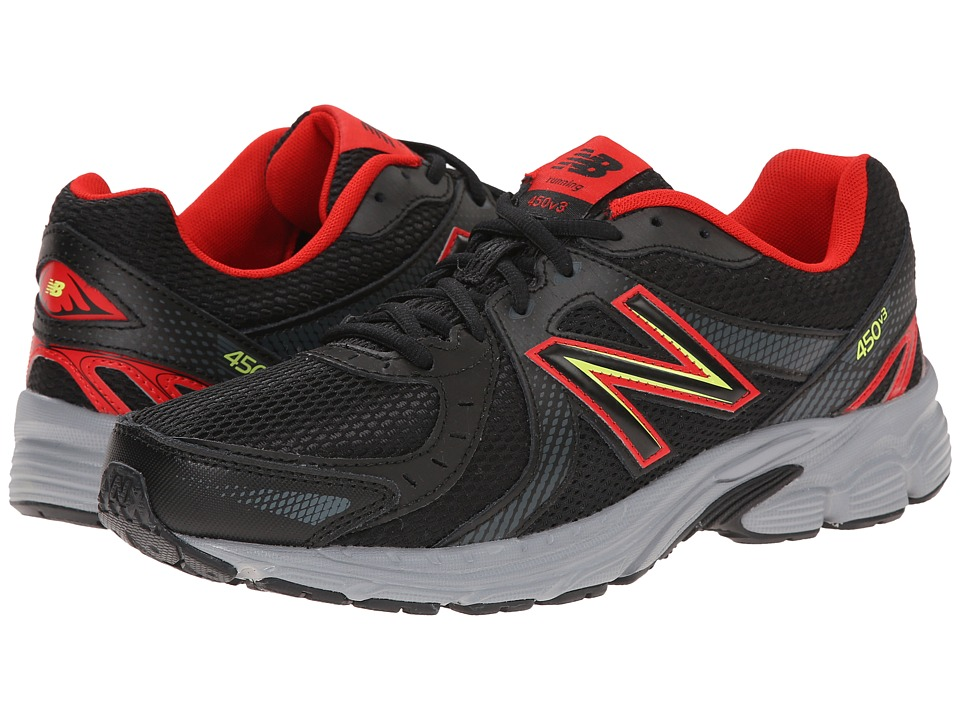 New Balance - M450CB3 (Black/Velocity) Men's Shoes